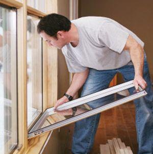 Услуги по замену стеклопакетов.Продажа деревянных окон, дверей.